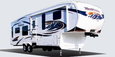 2010 Keystone Rv Montana Hickory Fifth Wheel Series M 3150