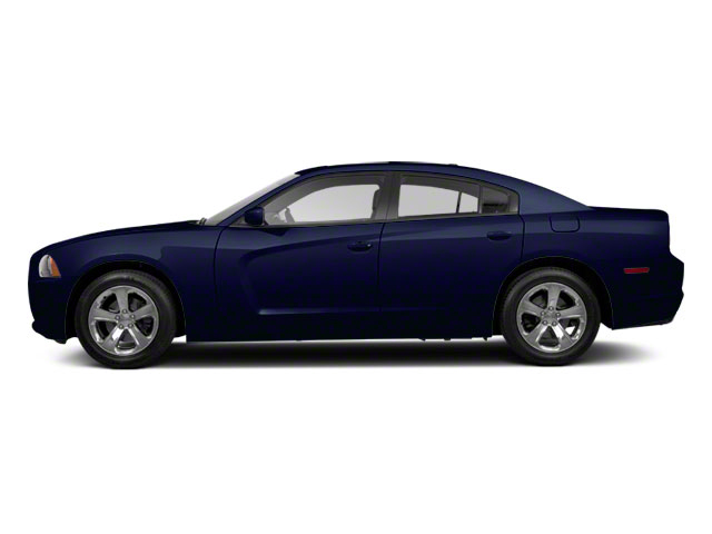 Midnight Blue Pearl 2011 Dodge Charger Pictures Charger Sedan 4D Police photos side view