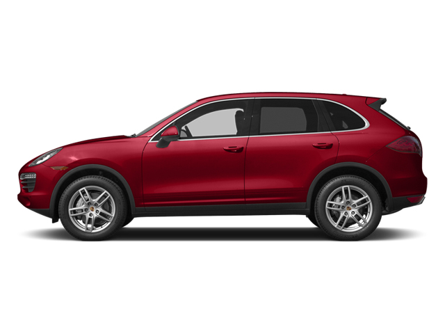 Carmine Red 2014 Porsche Cayenne Pictures Cayenne Utility 4D S AWD V8 photos side view