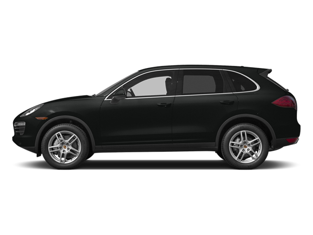Jet Black Metallic 2014 Porsche Cayenne Pictures Cayenne Utility 4D S AWD V8 photos side view