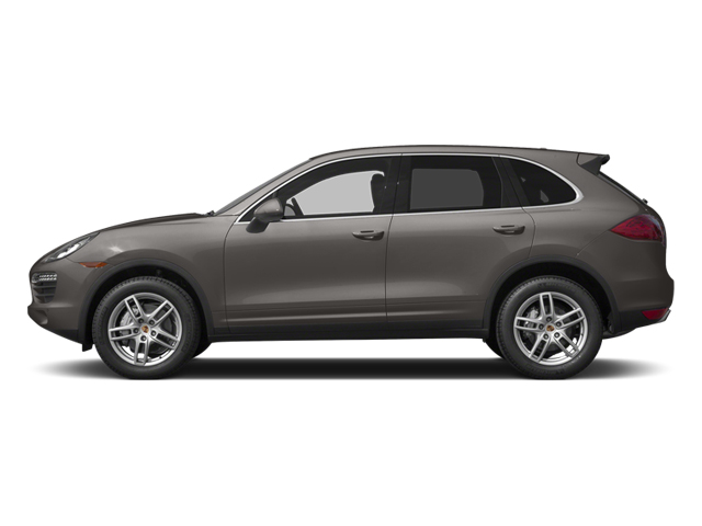 Meteor Gray Metallic 2014 Porsche Cayenne Pictures Cayenne Utility 4D S AWD V8 photos side view