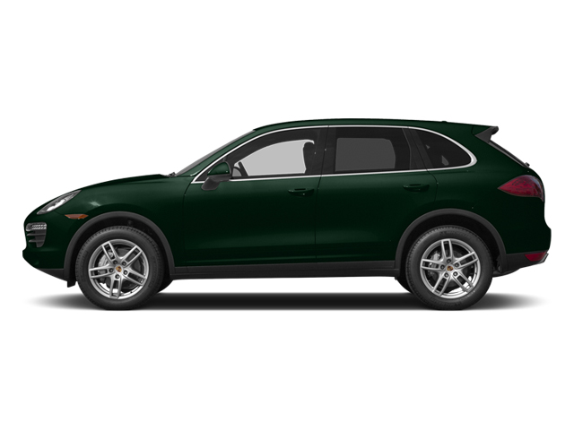 Jet Green Metallic 2014 Porsche Cayenne Pictures Cayenne Utility 4D S AWD V8 photos side view