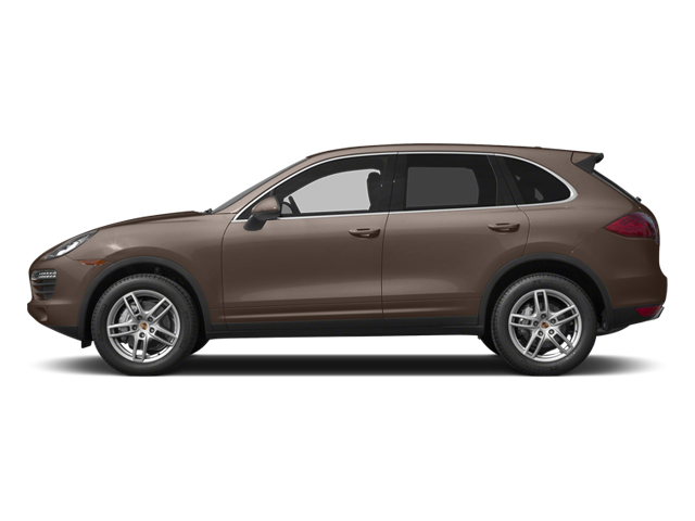 Umber Metallic 2014 Porsche Cayenne Pictures Cayenne Utility 4D S AWD V8 photos side view