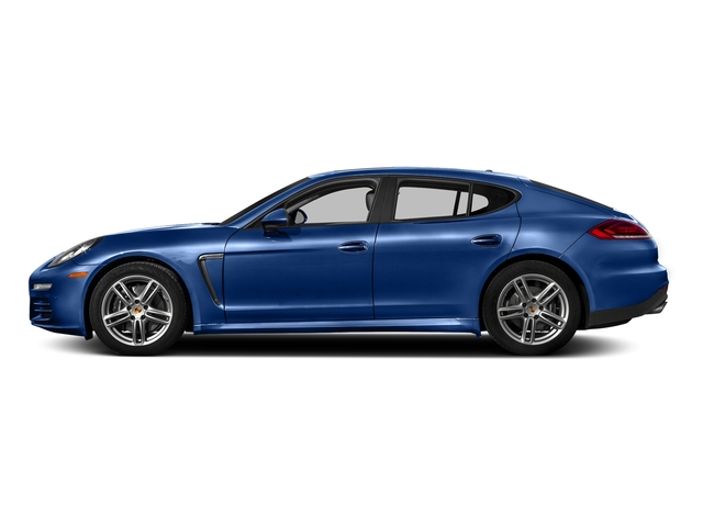 Sapphire Blue Metallic 2016 Porsche Panamera Pictures Panamera 4dr HB Turbo S photos side view