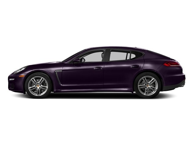 Amethyst Metallic 2016 Porsche Panamera Pictures Panamera 4dr HB Turbo S photos side view