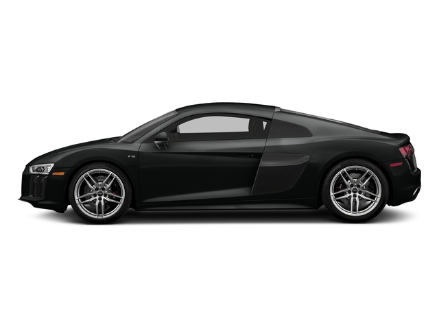 Mythos Black Metallic 2017 Audi R8 Coupe Pictures R8 Coupe V10 plus quattro AWD photos side view