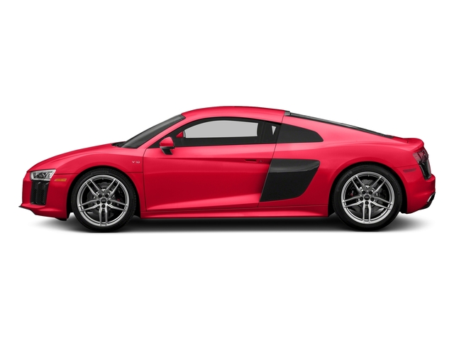 Dynamite Red 2017 Audi R8 Coupe Pictures R8 Coupe V10 plus quattro AWD photos side view
