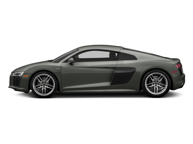 Daytona Gray Pearl Effect 2017 Audi R8 Coupe Pictures R8 Coupe V10 plus quattro AWD photos side view