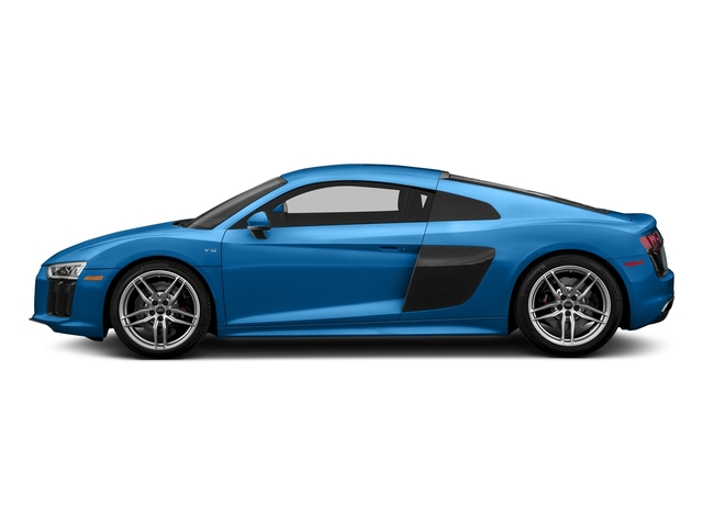 Ara Blue Crystal Effect 2017 Audi R8 Coupe Pictures R8 Coupe V10 plus quattro AWD photos side view