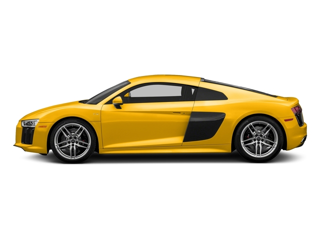 Vegas Yellow 2017 Audi R8 Coupe Pictures R8 Coupe V10 plus quattro AWD photos side view