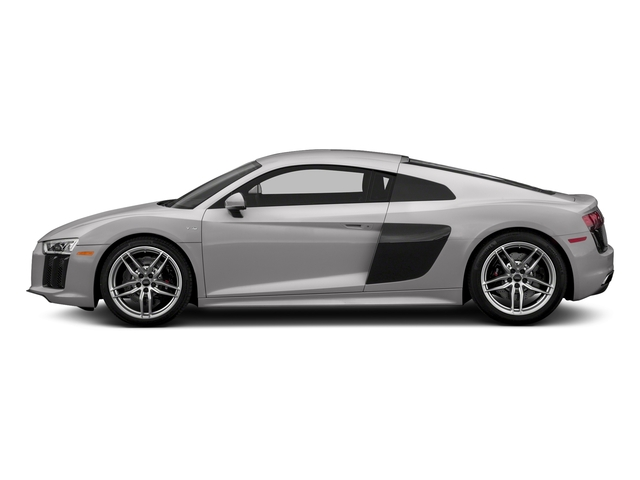 Florett Silver Metallic 2017 Audi R8 Coupe Pictures R8 Coupe V10 plus quattro AWD photos side view