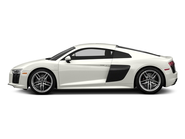 Ibis White 2017 Audi R8 Coupe Pictures R8 Coupe V10 plus quattro AWD photos side view