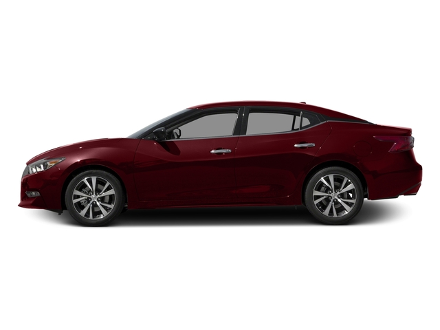 Coulis Red 2017 Nissan Maxima Pictures Maxima S 3.5L photos side view