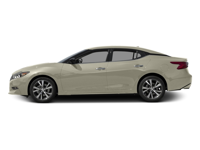 Pearl White 2017 Nissan Maxima Pictures Maxima S 3.5L photos side view
