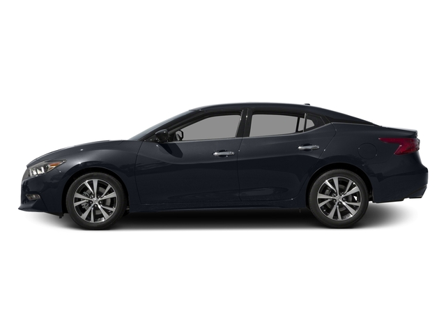 Storm Blue 2017 Nissan Maxima Pictures Maxima S 3.5L photos side view