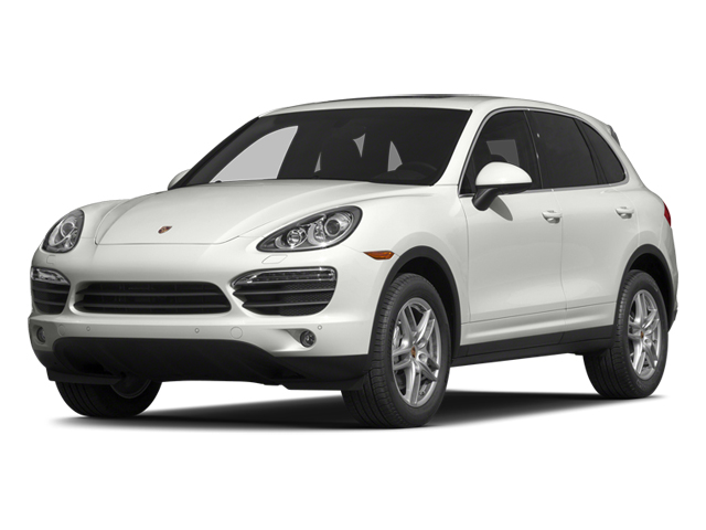 White 2014 Porsche Cayenne Pictures Cayenne Utility 4D S AWD V8 photos front view