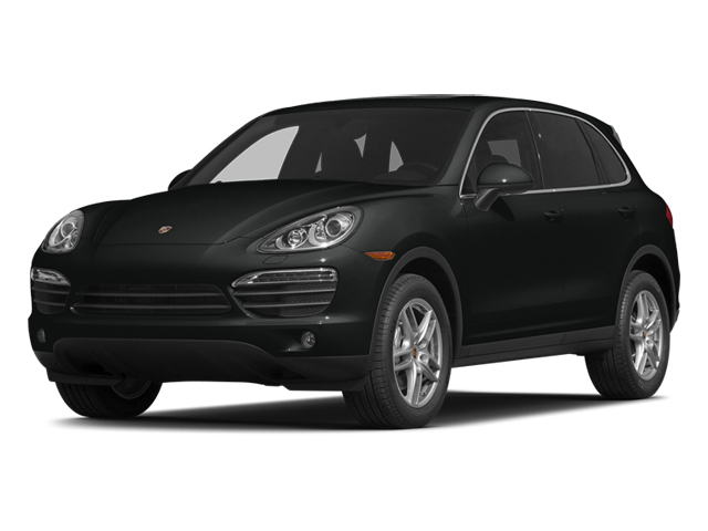 Jet Black Metallic 2014 Porsche Cayenne Pictures Cayenne Utility 4D S AWD V8 photos front view