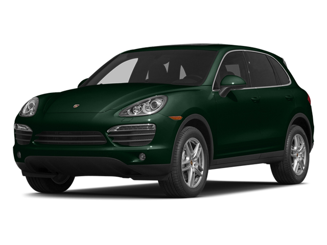 Jet Green Metallic 2014 Porsche Cayenne Pictures Cayenne Utility 4D S AWD V8 photos front view