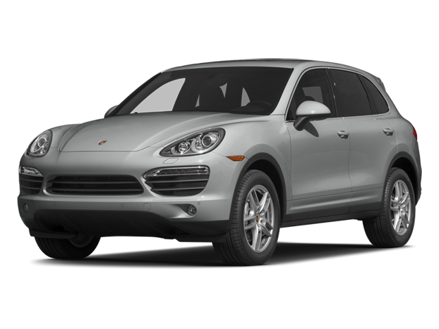 Classic Silver Metallic 2014 Porsche Cayenne Pictures Cayenne Utility 4D S AWD V8 photos front view