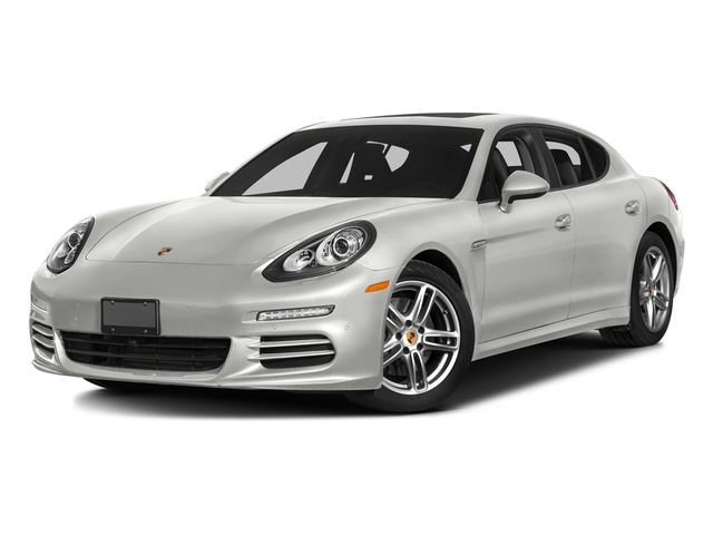 White 2016 Porsche Panamera Pictures Panamera 4dr HB Turbo S photos front view