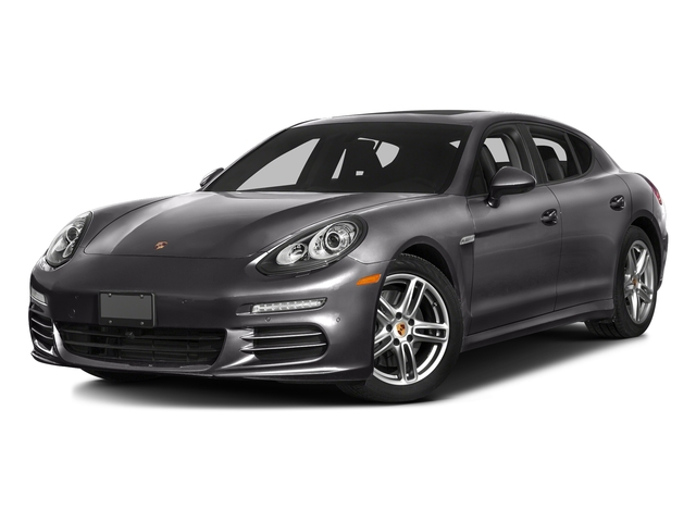 Carbon Gray Metallic 2016 Porsche Panamera Pictures Panamera 4dr HB Turbo S photos front view
