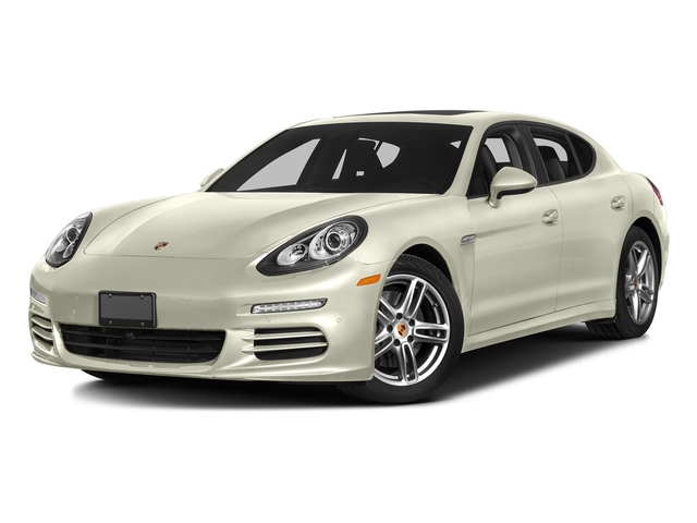 Carrara White Metallic 2016 Porsche Panamera Pictures Panamera 4dr HB Turbo S photos front view
