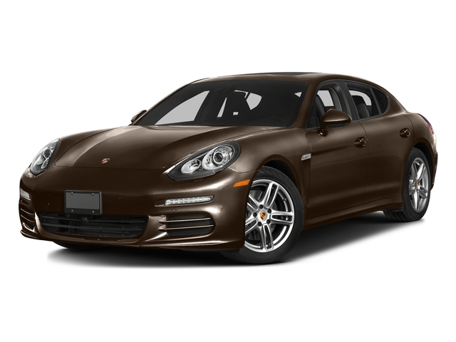 Chestnut Brown Metallic 2016 Porsche Panamera Pictures Panamera 4dr HB Turbo S photos front view