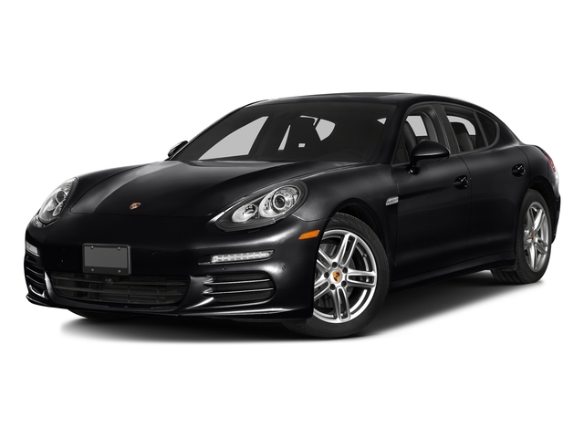 Black 2016 Porsche Panamera Pictures Panamera 4dr HB Turbo S photos front view