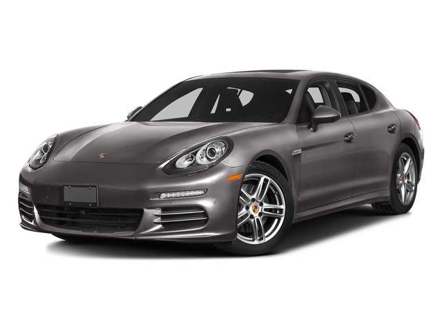 Agate Gray Metallic 2016 Porsche Panamera Pictures Panamera 4dr HB Turbo S photos front view