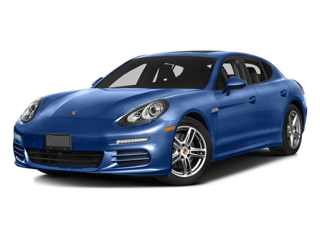 Sapphire Blue Metallic 2016 Porsche Panamera Pictures Panamera 4dr HB Turbo S photos front view