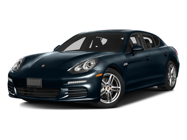 Night Blue Metallic 2016 Porsche Panamera Pictures Panamera 4dr HB Turbo S photos front view