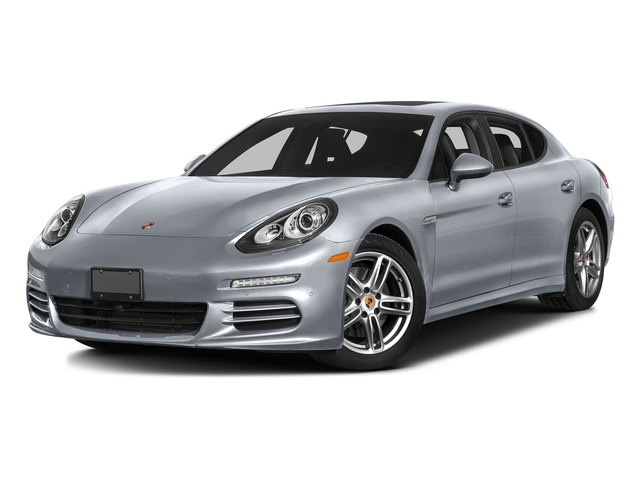 Rhodium Silver Metallic 2016 Porsche Panamera Pictures Panamera 4dr HB Turbo S photos front view