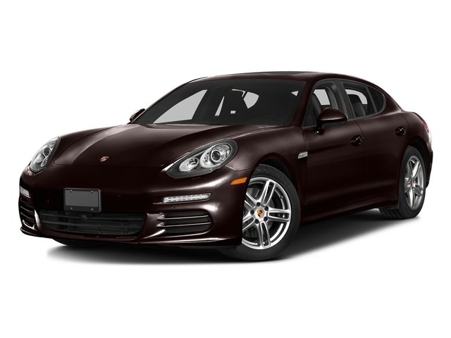 Mahogany Metallic 2016 Porsche Panamera Pictures Panamera 4dr HB Turbo S photos front view