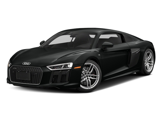 Mythos Black Metallic 2017 Audi R8 Coupe Pictures R8 Coupe V10 plus quattro AWD photos front view
