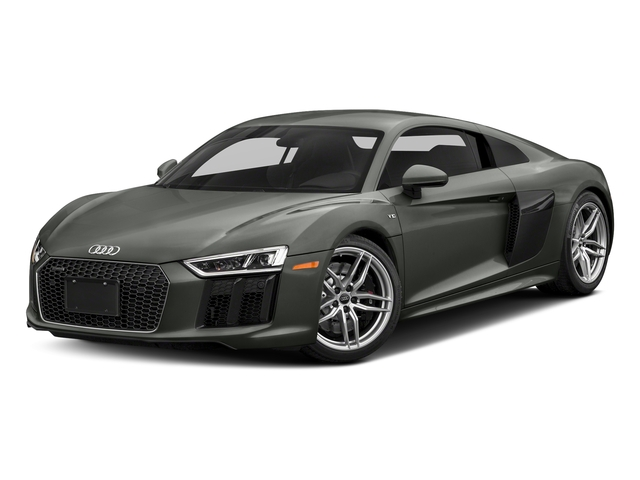 Daytona Gray Pearl Effect 2017 Audi R8 Coupe Pictures R8 Coupe V10 plus quattro AWD photos front view