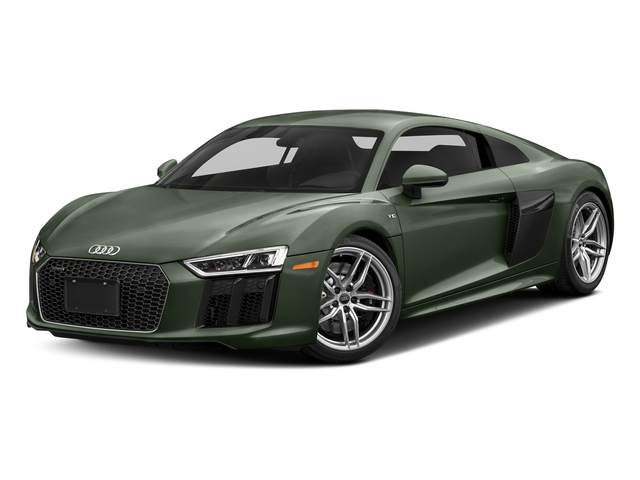 Camouflage Green Metallic 2017 Audi R8 Coupe Pictures R8 Coupe V10 plus quattro AWD photos front view
