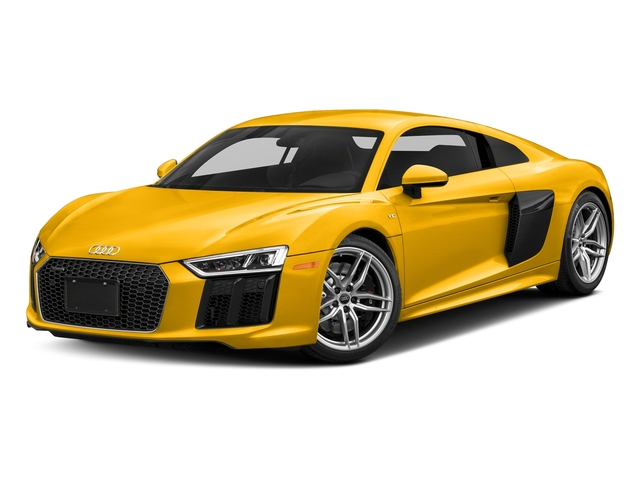 Vegas Yellow 2017 Audi R8 Coupe Pictures R8 Coupe V10 plus quattro AWD photos front view