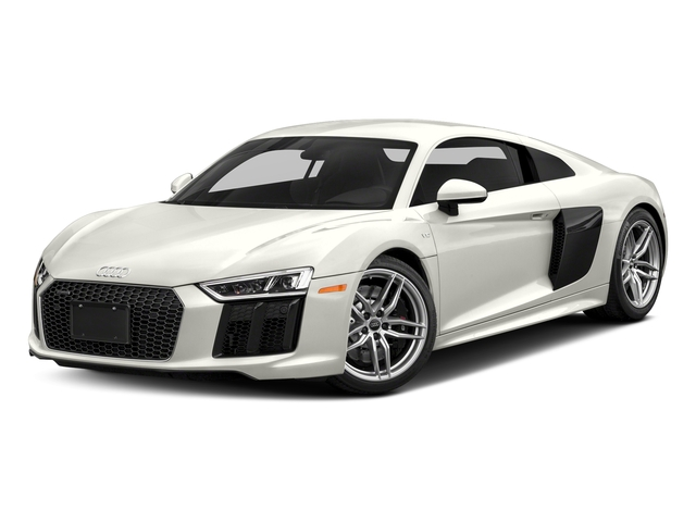 Ibis White 2017 Audi R8 Coupe Pictures R8 Coupe V10 plus quattro AWD photos front view