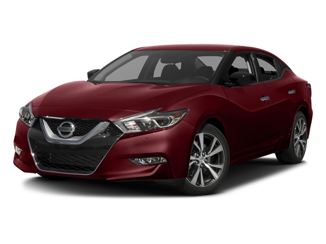 Coulis Red 2017 Nissan Maxima Pictures Maxima S 3.5L photos front view