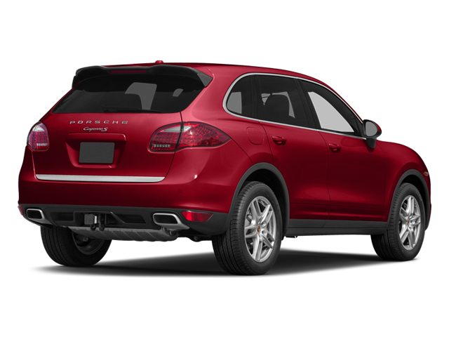 Carmine Red 2014 Porsche Cayenne Pictures Cayenne Utility 4D S AWD V8 photos rear view