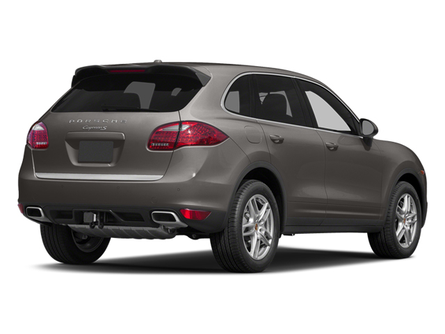 Meteor Gray Metallic 2014 Porsche Cayenne Pictures Cayenne Utility 4D S AWD V8 photos rear view