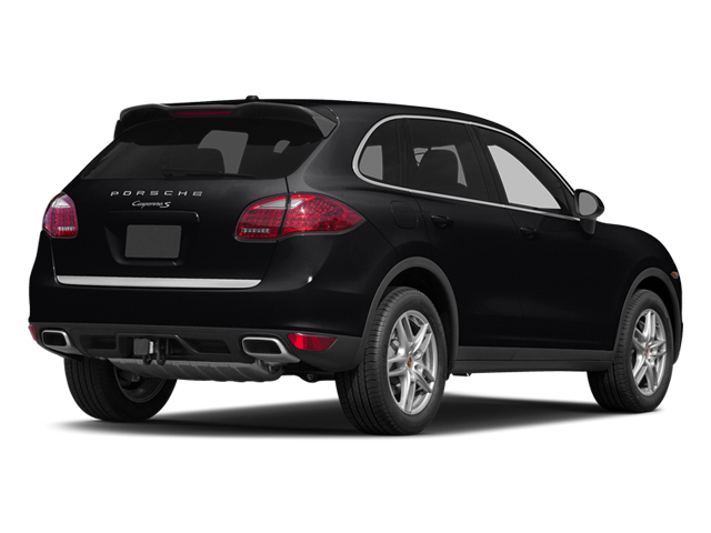 Black 2014 Porsche Cayenne Pictures Cayenne Utility 4D S AWD V8 photos rear view