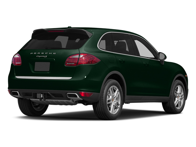 Jet Green Metallic 2014 Porsche Cayenne Pictures Cayenne Utility 4D S AWD V8 photos rear view