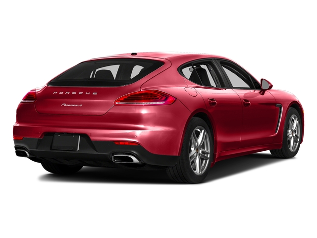 Carmine Red 2016 Porsche Panamera Pictures Panamera 4dr HB Turbo S photos rear view