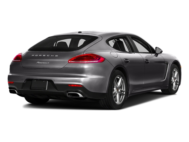 Carbon Gray Metallic 2016 Porsche Panamera Pictures Panamera 4dr HB Turbo S photos rear view