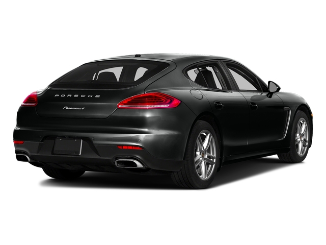 Jet Black Metallic 2016 Porsche Panamera Pictures Panamera 4dr HB Turbo S photos rear view