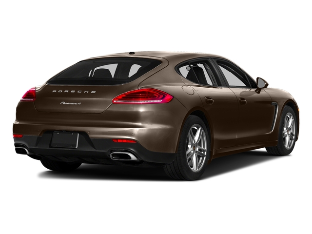 Chestnut Brown Metallic 2016 Porsche Panamera Pictures Panamera 4dr HB Turbo S photos rear view