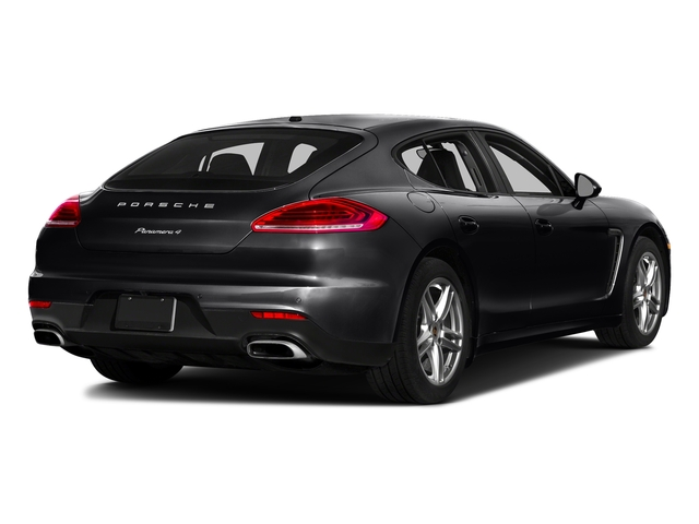 Black 2016 Porsche Panamera Pictures Panamera 4dr HB Turbo S photos rear view
