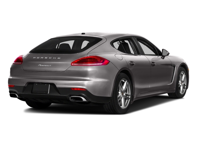 Agate Gray Metallic 2016 Porsche Panamera Pictures Panamera 4dr HB Turbo S photos rear view