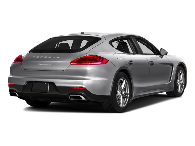 GT Silver Metallic 2016 Porsche Panamera Pictures Panamera 4dr HB Turbo S photos rear view